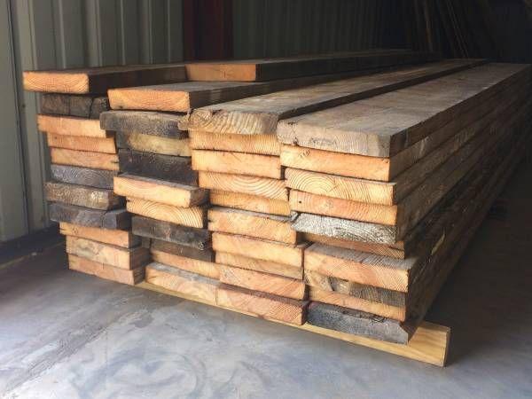 memilih kayu bekas