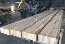 glue laminated bamboo