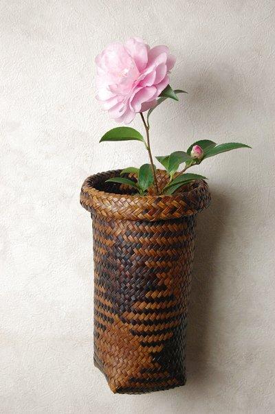 vas bunga dari pandan