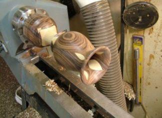 alat kerajinan bubut kayu