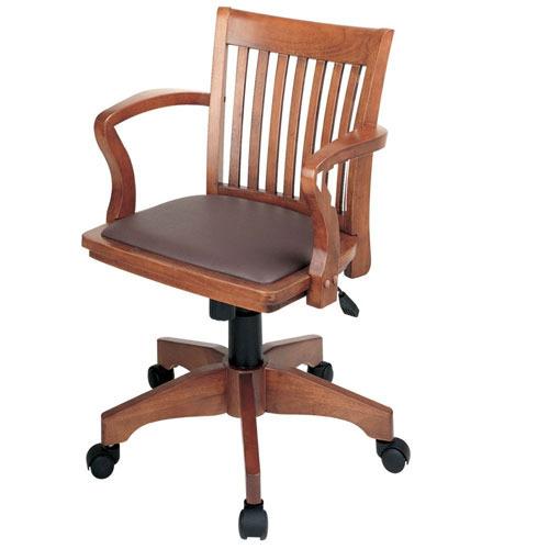 kursi kantor dari kayu