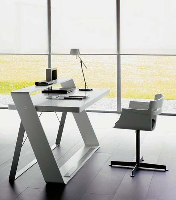 meja minimalis gaya unik